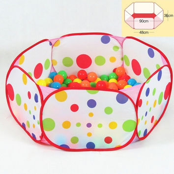 Kids Play tent Game House tent Pool Children Tent Ocean Ball Pool baby educational Toy tent Outdoor Fun & Sports Lawn Tent = 1946459396
