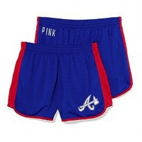 Atlanta Braves Mesh Campus Short - PINK - Victoria's Secret