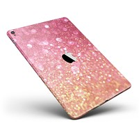 """Unfocused Pink and Gold Orbs Full Body Skin for the iPad Pro (12.9"""" or 9.7"""" available)"""