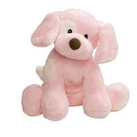 Gund Baby Spunky Plush Puppy Toy, Small, Pink: Toys & Games