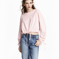 H&M Short Drawstring Sweatshirt $34.99