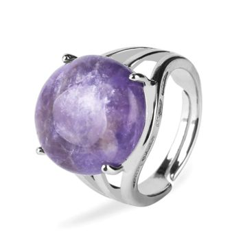 Natural Gemstone Cocktail Ring