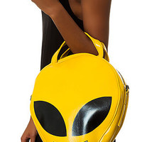 The Zook Alien Purse in Chartreuse Green