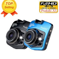 Podofo A1 Mini Car DVR Camera Dashcam Full HD 1080P G-sensor Night Vision