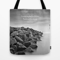 A Dreamer Tote Bag by Alice Gosling