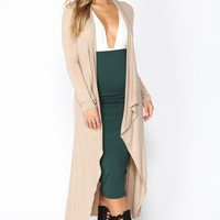 You Amaze Me Duster - Taupe