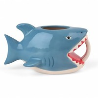 Shark Bite Me Coffee Mug