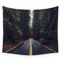 Society6 The Woods Have Eyes Wall Tapestry