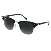 Ray-Ban Havana On Violet New Clubmaster Sunglasses