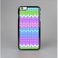 The Bright-Colored Knit Pattern Skin-Sert Case for the Apple iPhone 6 Plus