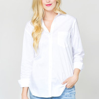 Relaxing Retreat Button-up Blouse