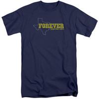 FRIDAY NIGHT LIGHTS/TEXAS FOREVER - S/S ADULT TALL - NAVY - 3X - NAVY -