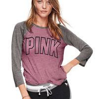 Perfect Baseball Tee - PINK - Victoria's Secret
