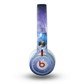 The Blue & Purple Mixed Universe Skin for the Beats by Dre Mixr Headphones