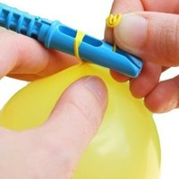 Tie-Not Water Balloons with Nozzle and Knotter with 100 Bonus Balloons:Amazon:Toys & Games