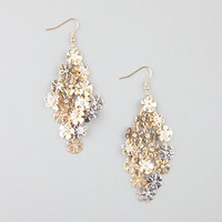 Full Tilt Daisy Shower Earrings Gold One Size For Women 24193062101