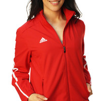 Adidas Women's Woven Warm Up Full Zip Jacket