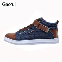 Men's Breathable Canvas Shoes