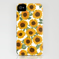 SUNNY DAYS -sunflowers- iPhone & iPod Case by bows & arrows