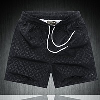 Louis Vuitton LV Fashion New Monogram Print Women Men Sports Leisure Shorts