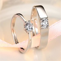 New Arrival Shiny Jewelry Stylish Gift Gifts Couple Korean Accessory Ring [11107429524]