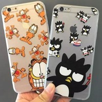 Iphone 6/6s Hot Deal Cute Hot Sale Stylish On Sale Cats Cool Apple Iphone Cartoons Soft Phone Case [6034112897]