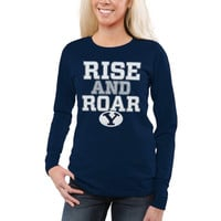 BYU Cougars Women's Team Pride Too Long Sleeve T-Shirt – Navy Blue