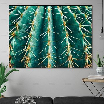 Wall Art  prints Canvas Painting green plant  Pictures  home decor on canvas decoration the painting on the wall poster no frame