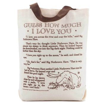 Guess How Much I Love You Storybook Kids Tote