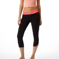 Aerie Slim Gym Yoga Crossover Skinny Crop Pant   Aerie for American Eagle