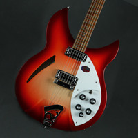 Rickenbacker 330 Semi Hollow-Body Electric Guitar - Fire Glo at Hello Music