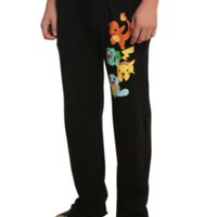Pokemon Starter Guys Pajama Pants