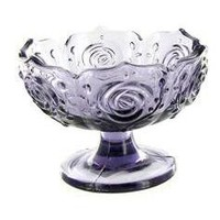 Glass Bowl with Flower Pattern - Hobby Lobby