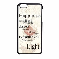 Harry Potter Happiness Quote iPhone 6 Case