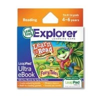 LeapFrog LeapPad Ultra eBook Learn to Read Collection: Fairy Tales (works with all LeapPad tablets)