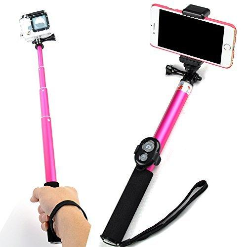 bluetooth selfie stick with tripod stand from amazon. Black Bedroom Furniture Sets. Home Design Ideas