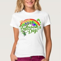 Happy Saint Patrick's Day - All Ages T-shirts