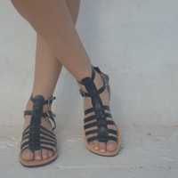 Unisex Gladiator leather strap sandals,18 COLOURS available, Ancient Greek Sandals,Barefoot sandal!Womens sandals!Mens or womens boho hippie