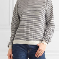 M.i.h Jeans - Malmo striped cashmere turtleneck sweater
