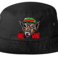 WOLF GANG  bucket hat