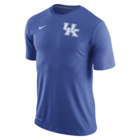 Nike College Stadium Dri-FIT Touch (Kentucky) Men's Training Shirt Size XL (Blue)