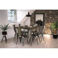 Gunter Dining Table with Chairs