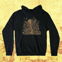 Groot Of Life Customiz Hoodie men women Unisex adults Screenprint size S,M,L,XL,XXL
