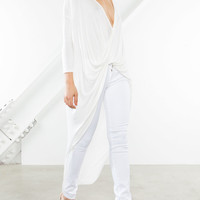 Evelyn Knot Front Tunic