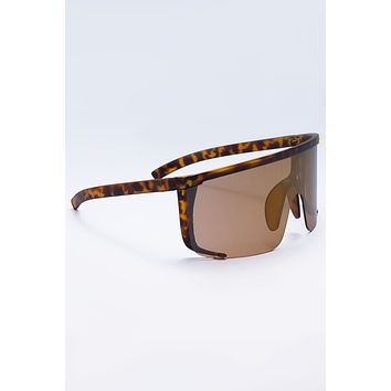 All Eyes On My Sunglasses Brown