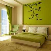 Wall Decal Vinyl Sticker Tree Branch Birds Pattern Bedroom Living Room B109