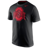 Nike Ohio State Buckeyes Travel Dri-FIT Cotton Tee