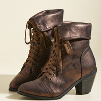 More Than What It Gleams Bootie | Mod Retro Vintage Boots | ModCloth.com