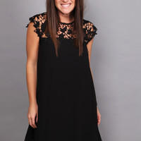 Call Me Crazy Dress {Black}