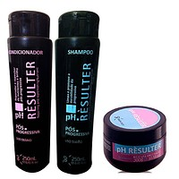 SHAMPOO CONDITIONER AND MASK PH RESULTER HAIR DAILY HOME CARE KIT